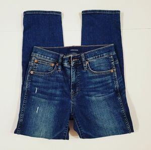 J. Crew Vintage Straight Patched Jeans